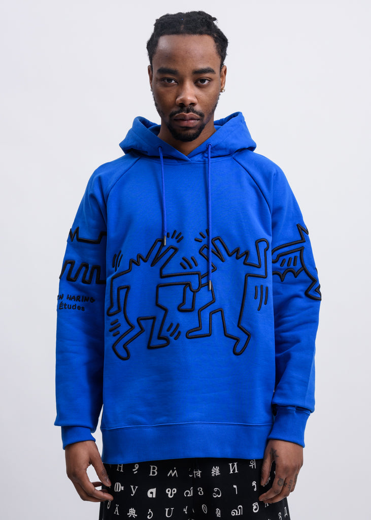 Blue Keith Haring Edition Hoodie