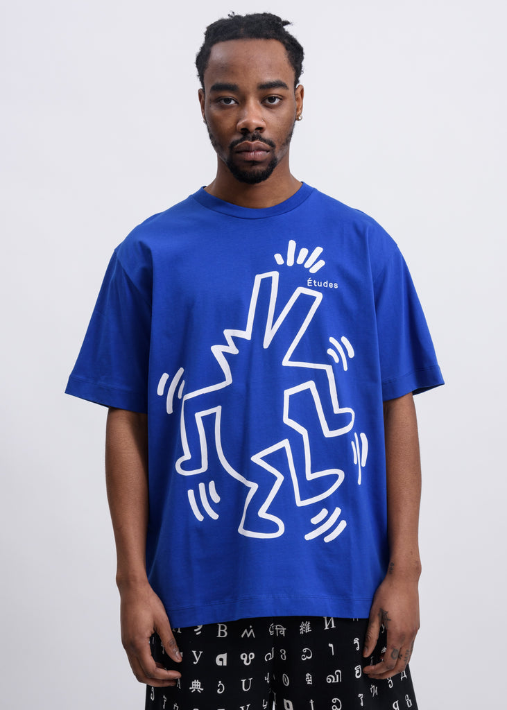 Blue Keith Haring Edition Wonder T-Shirt