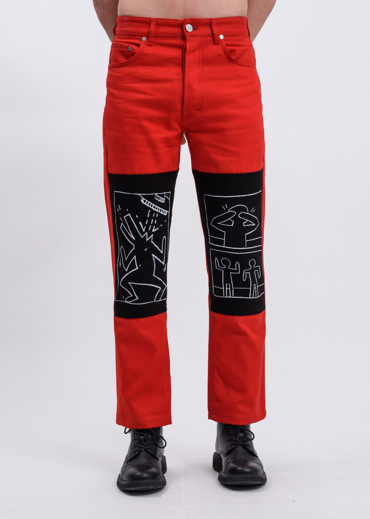 Red Corner KH x MTA Canvas Trousers