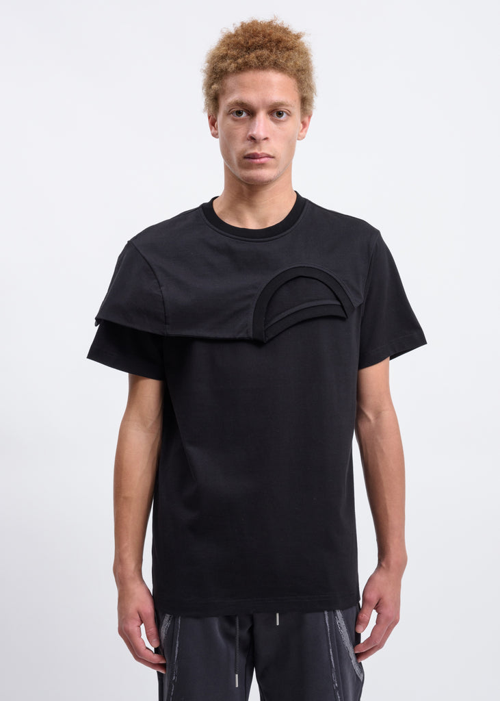 Black 2 In 1 T-Shirt