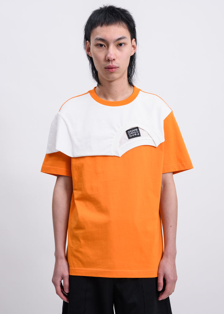 Orange Layered T-Shirt