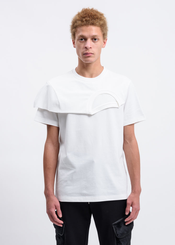 White 2 In 1 T-Shirt