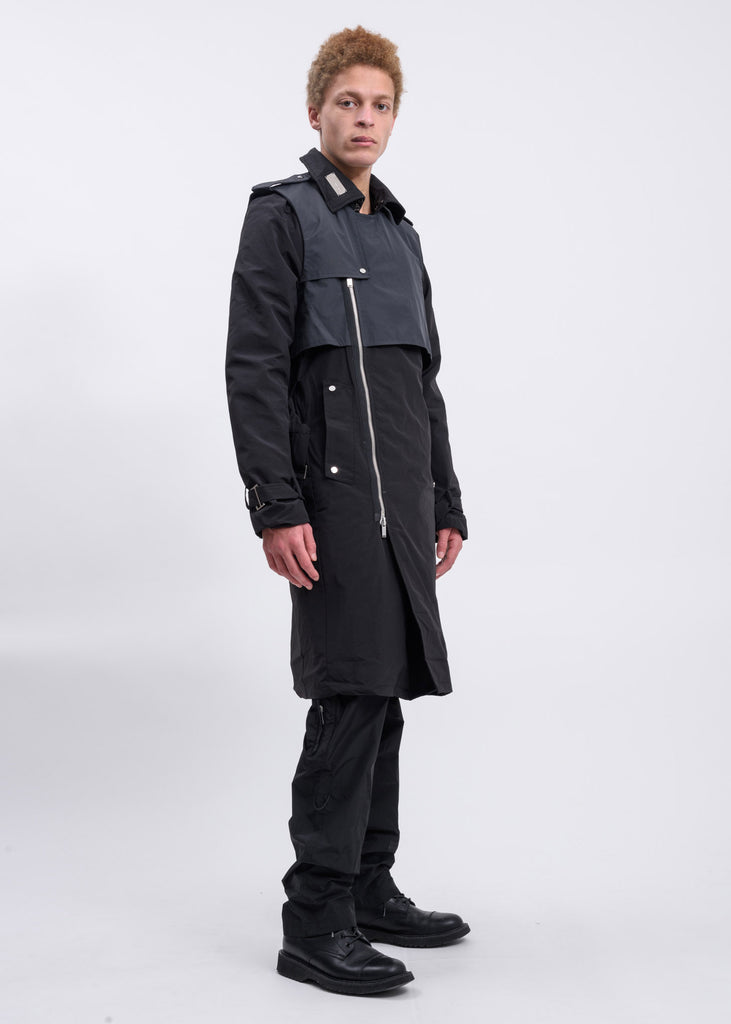 Black Long Trench Coat