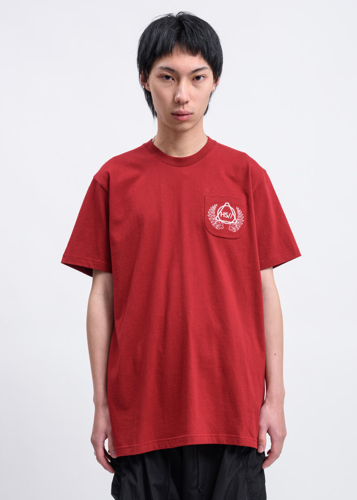 Hyein Seo, Red Emblem T-shirt, 017 Shop