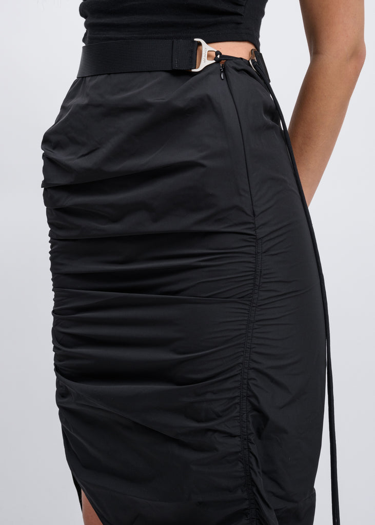 Hyein Seo, Black Asymmetric Skirt, 017 Shop