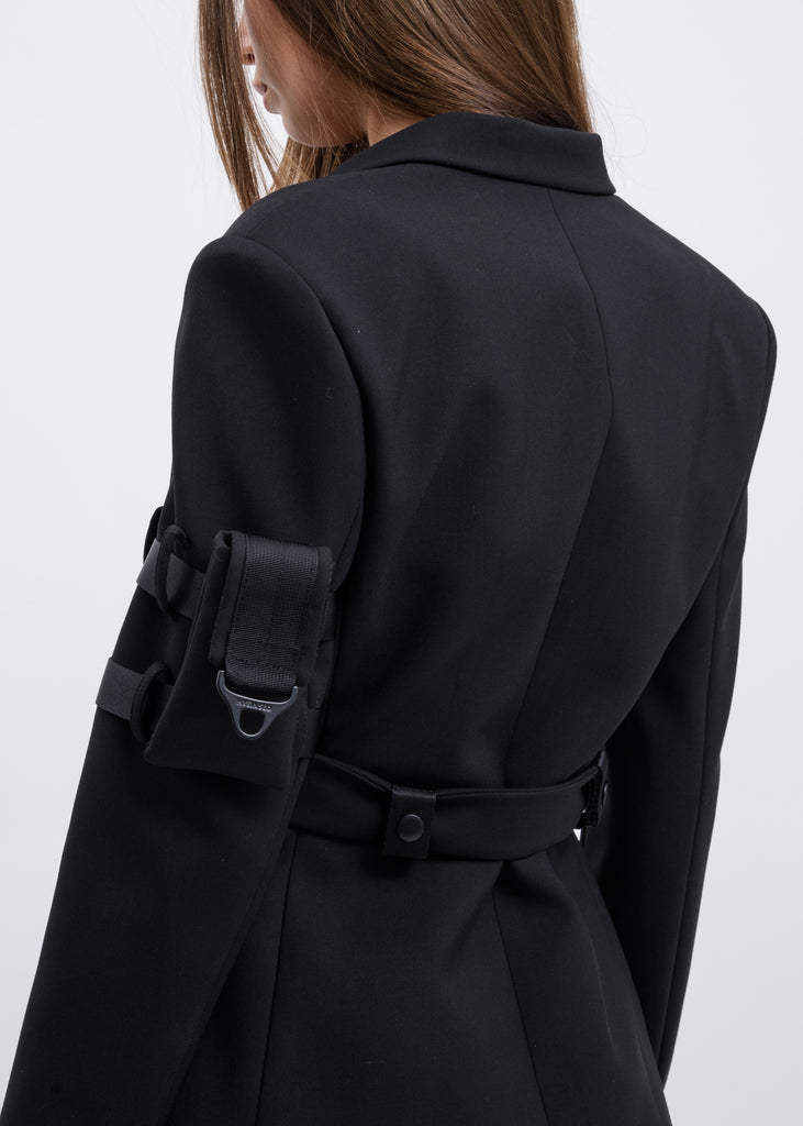 Black Belted Jacket