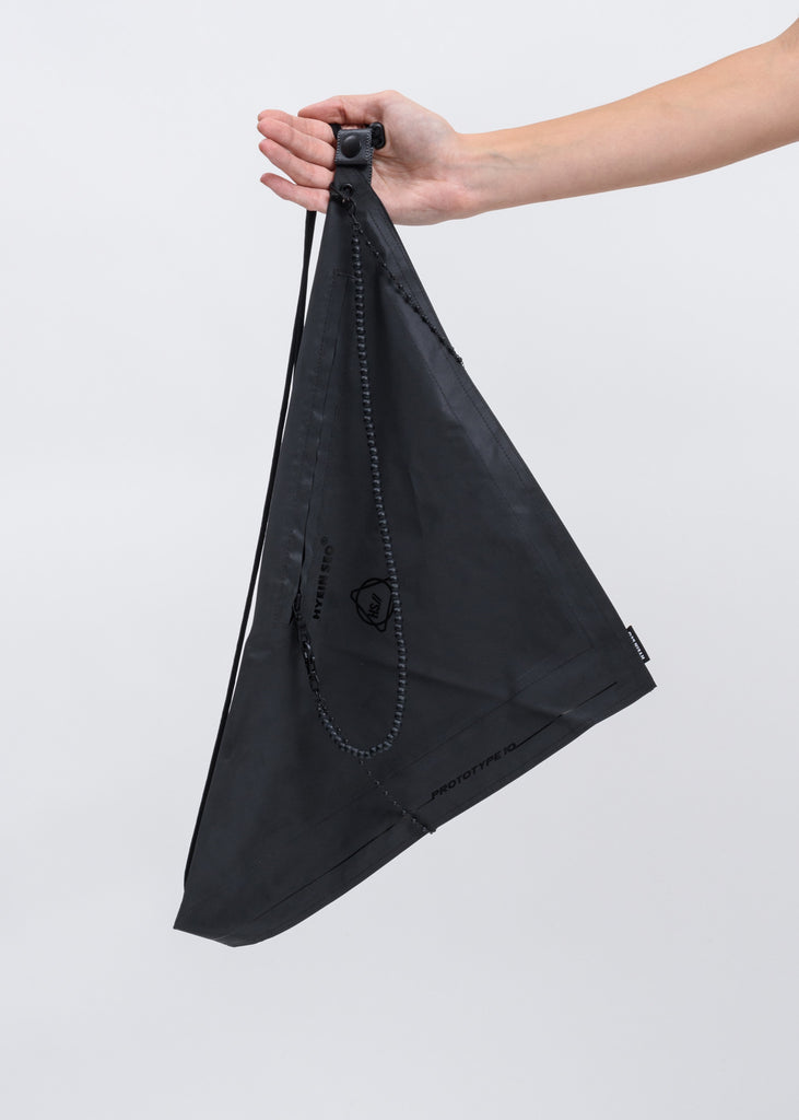 Dark Grey Reflective Scarf Bag