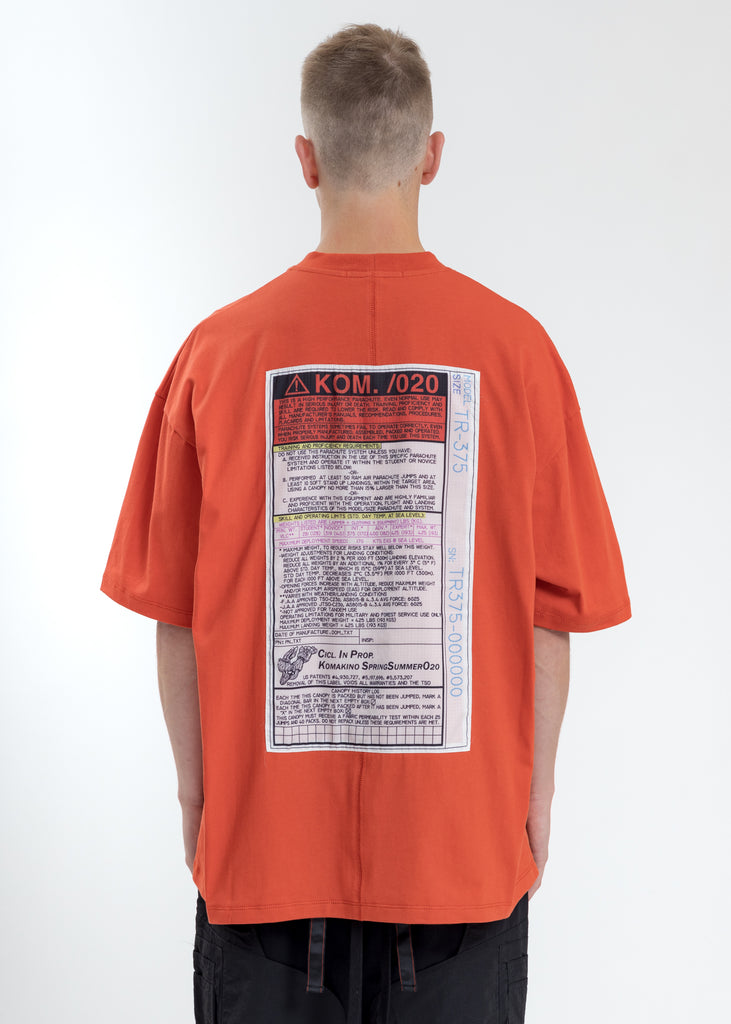 Orange Loose Fit T-Shirt