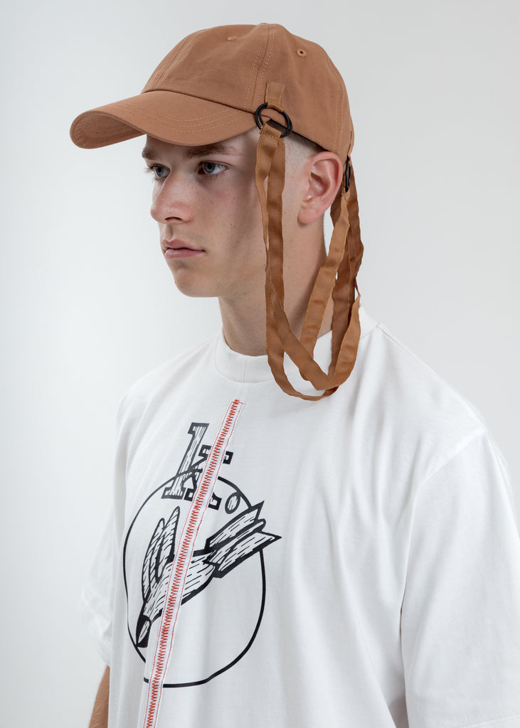 Sienna Baseball Cap With Tape