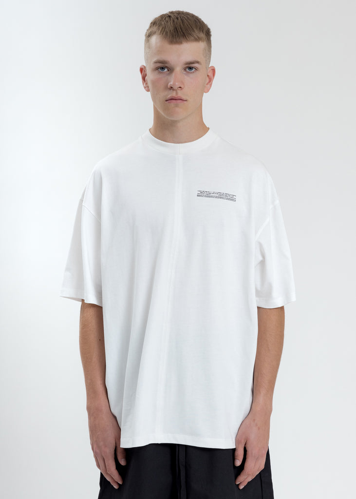 White Loose Fit T-Shirt