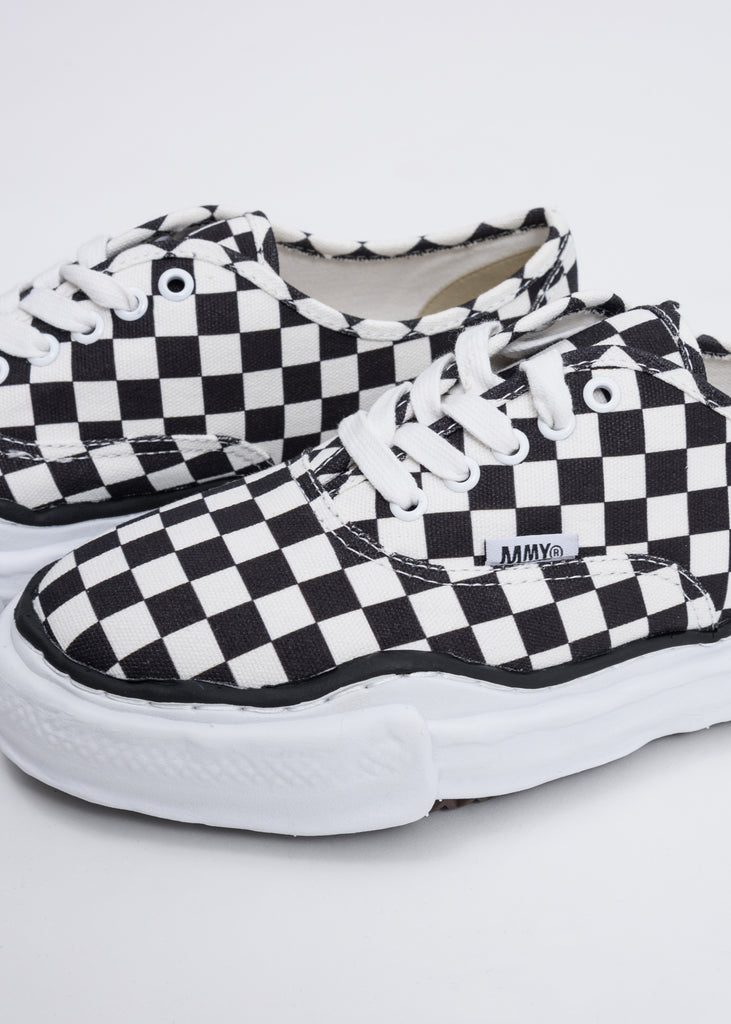 Black And White Gingham Original Sole Sneaker