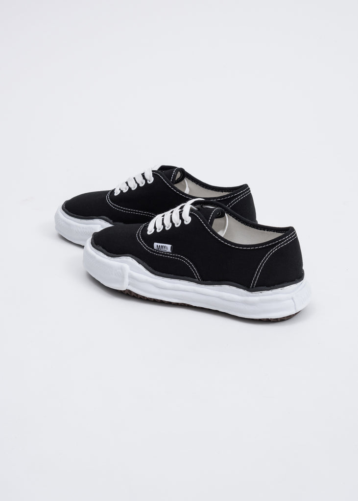 Black Canvas Original Sole Sneaker
