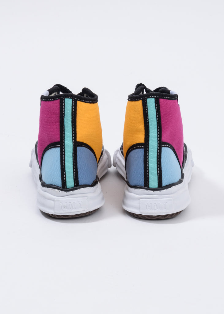 Multi Trick Detail  Original Sole High Top Sneaker