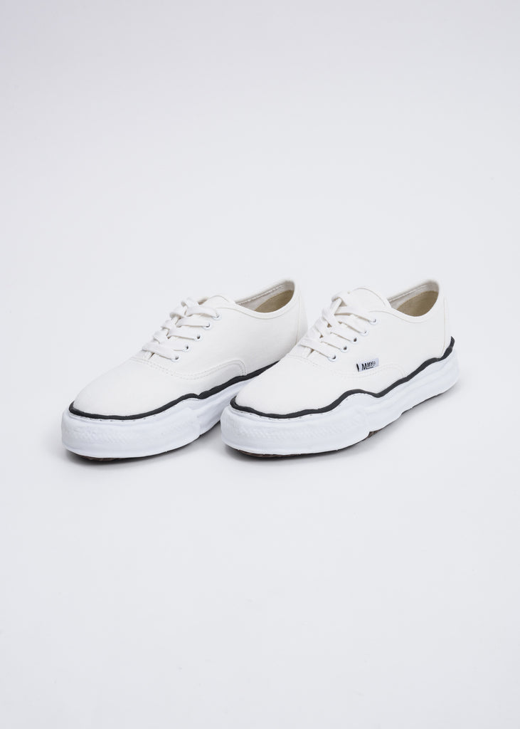White Canvas Original Sole Sneaker