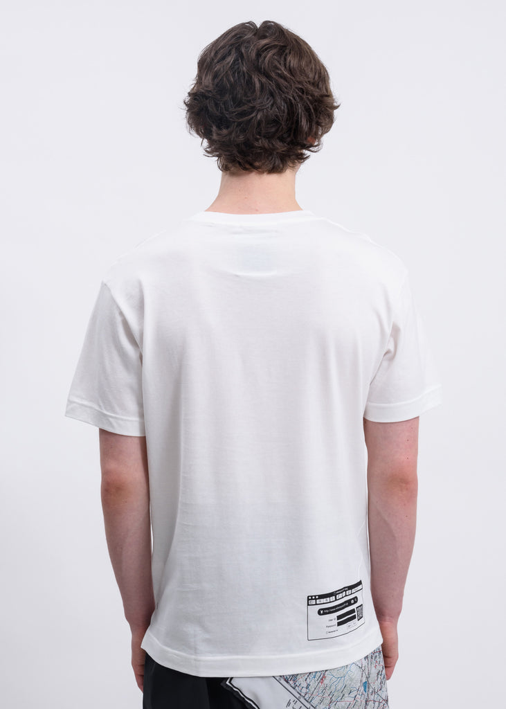 White Password: Printed T-Shirt