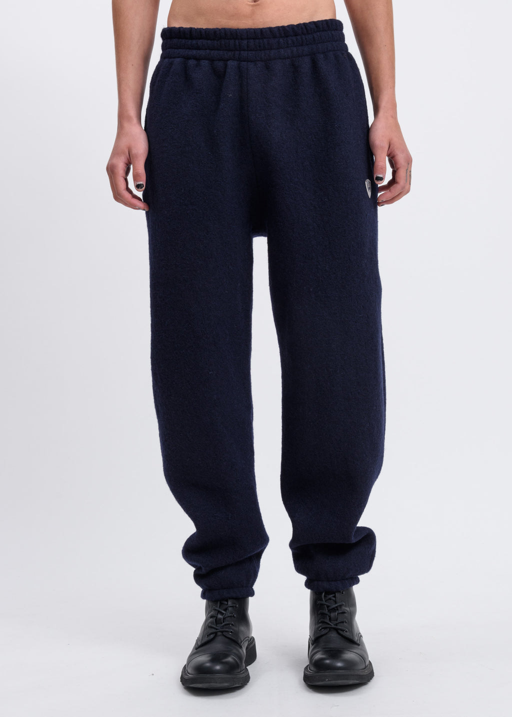 Navy Stein Jogging Trouser w/ Shield Logo