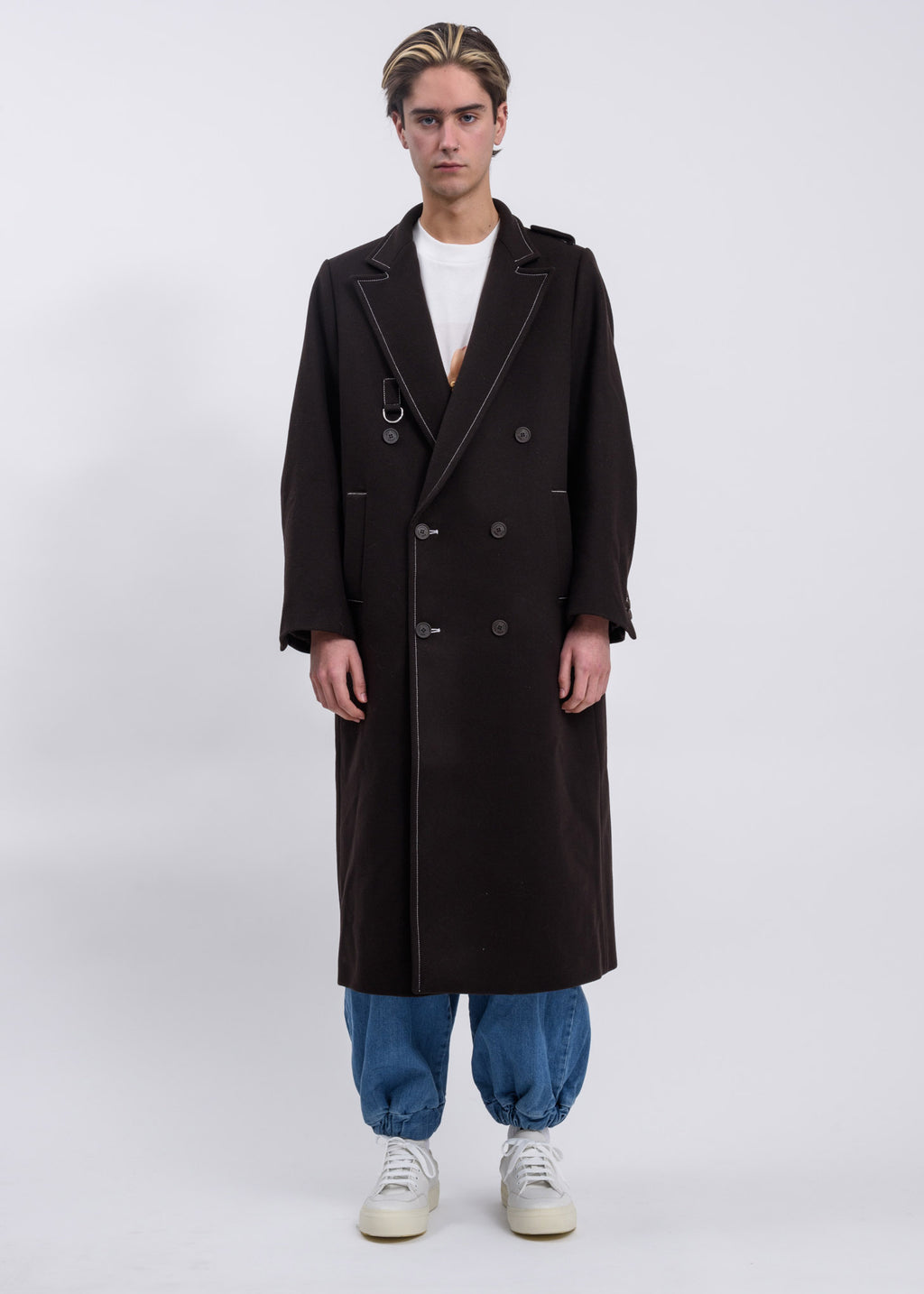 Dark Brown Classic Coat