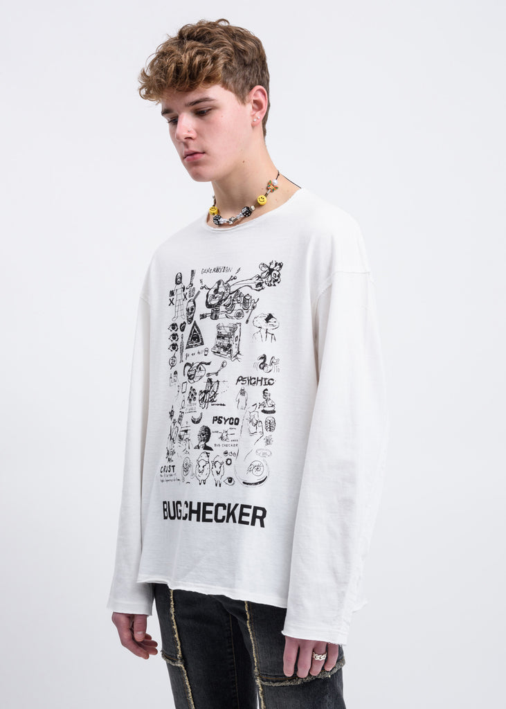 Off White Bug Checker Sweater