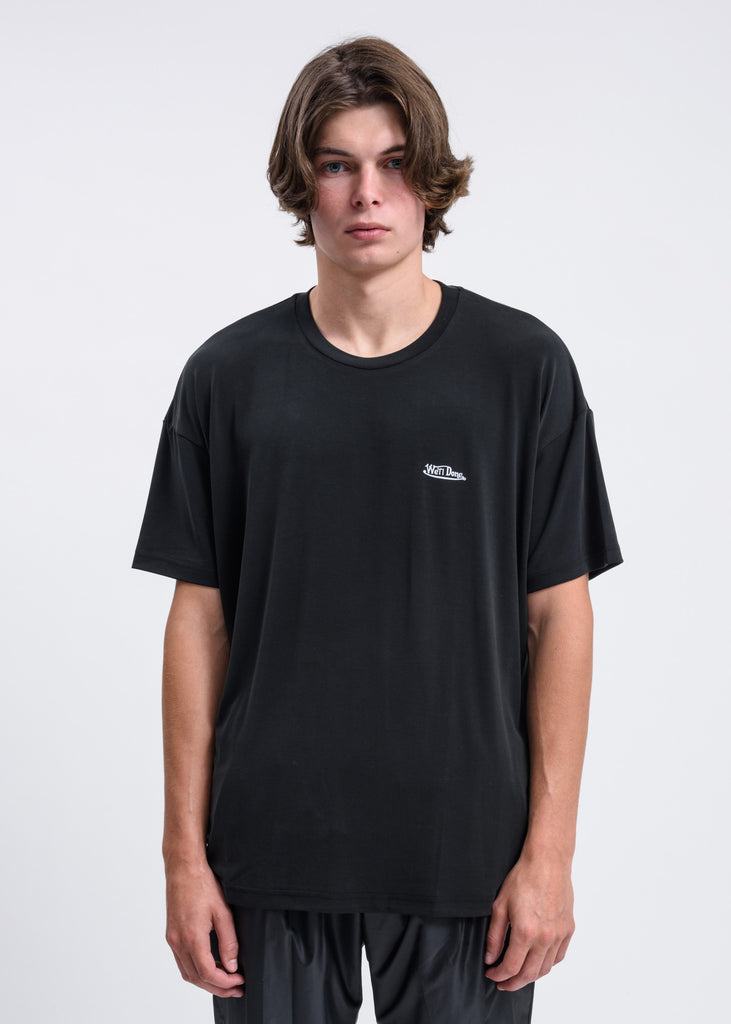 Black Oversized we11done T-Shirt