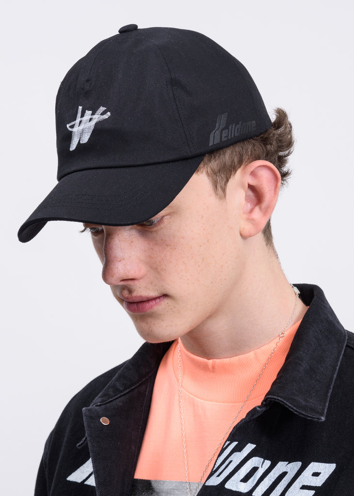 Black WD Logo Stamp Cap