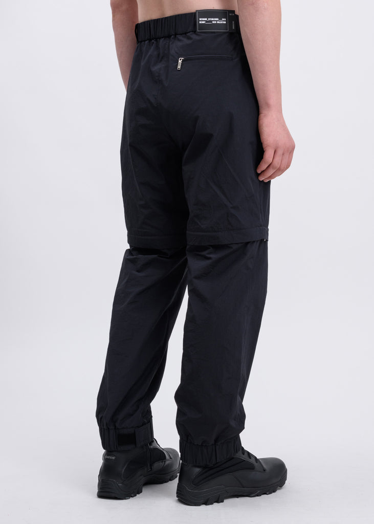 Black Zip Detail Track Pants