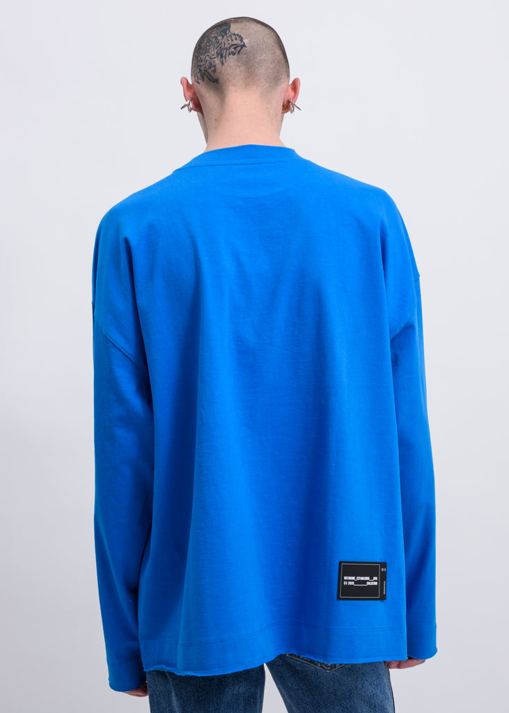 Blue Metal Logo Long Sleeves
