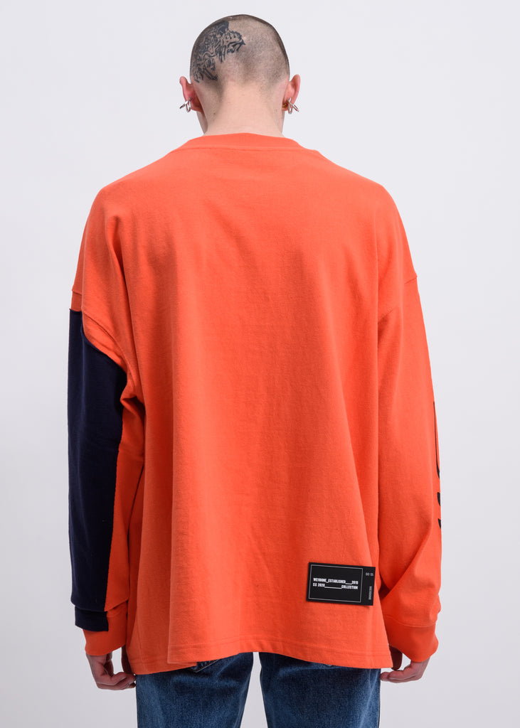 Orange Remake Logo Long Sleeves