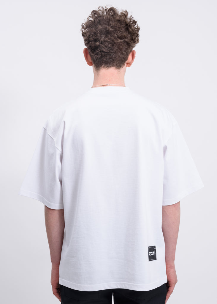 White WELLDONE Front Logo T-Shirt