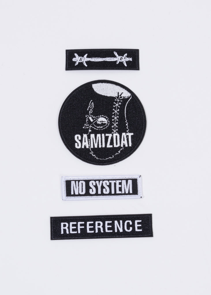 Black FW'19 Samizdat Patches