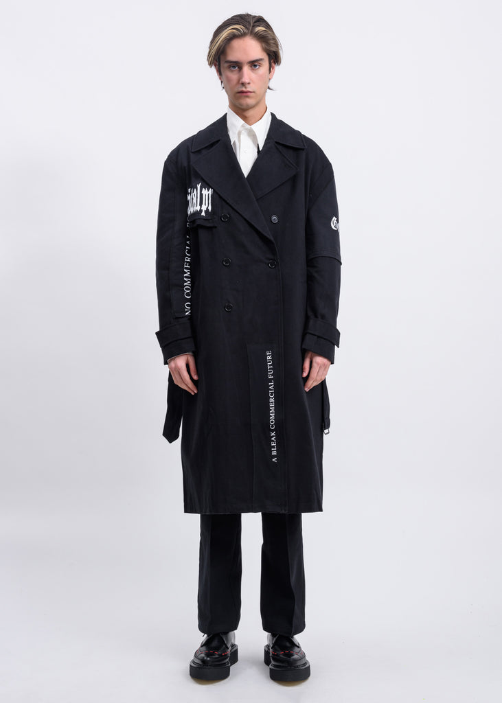 Black Patch Iconic Trench Coat