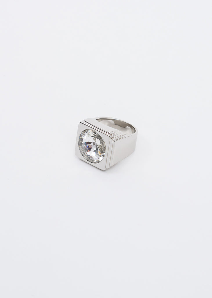 Square Ring w/ Crystal