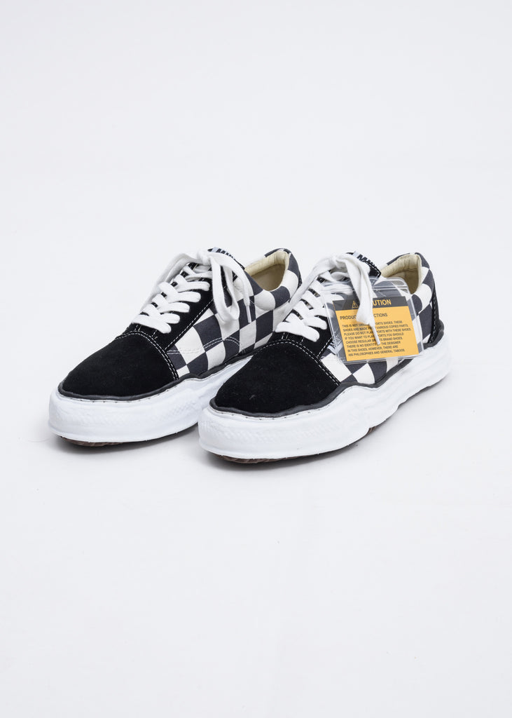 Black Gingham Original Sole Sneaker