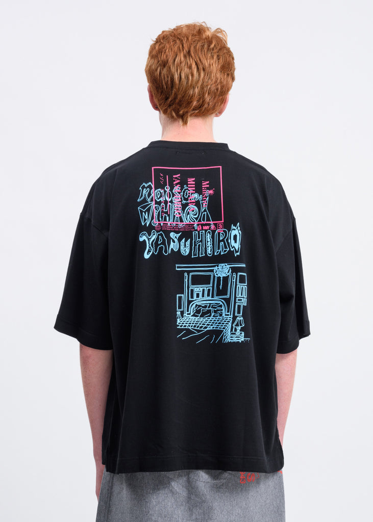 Black Phone Booth T-Shirt