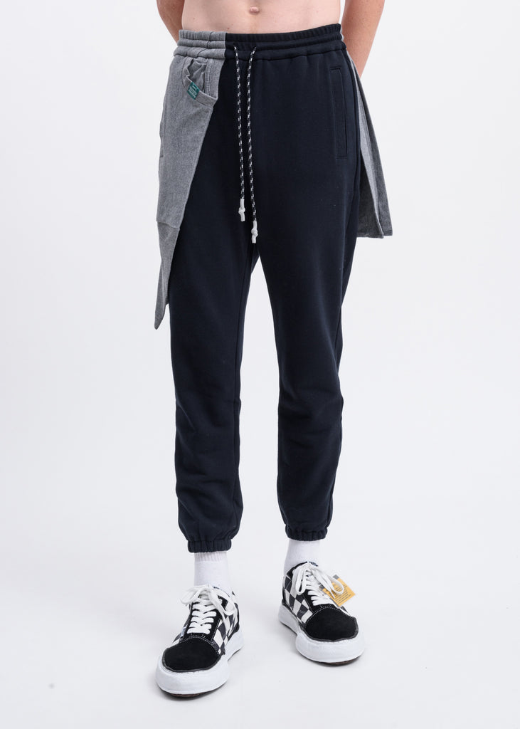 Black T-Shirt Docking Pants