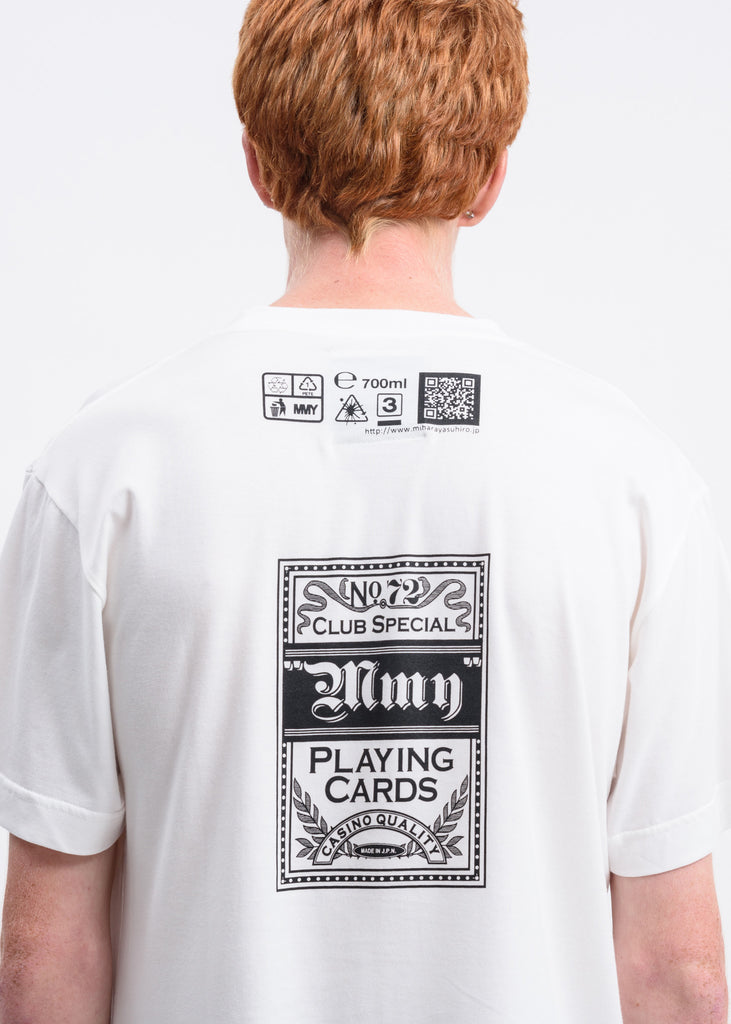 White Playing Cards T-Shirt