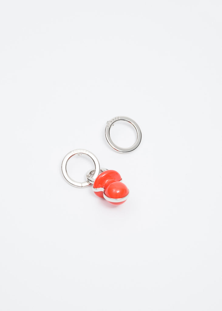 Red Dummy Earring