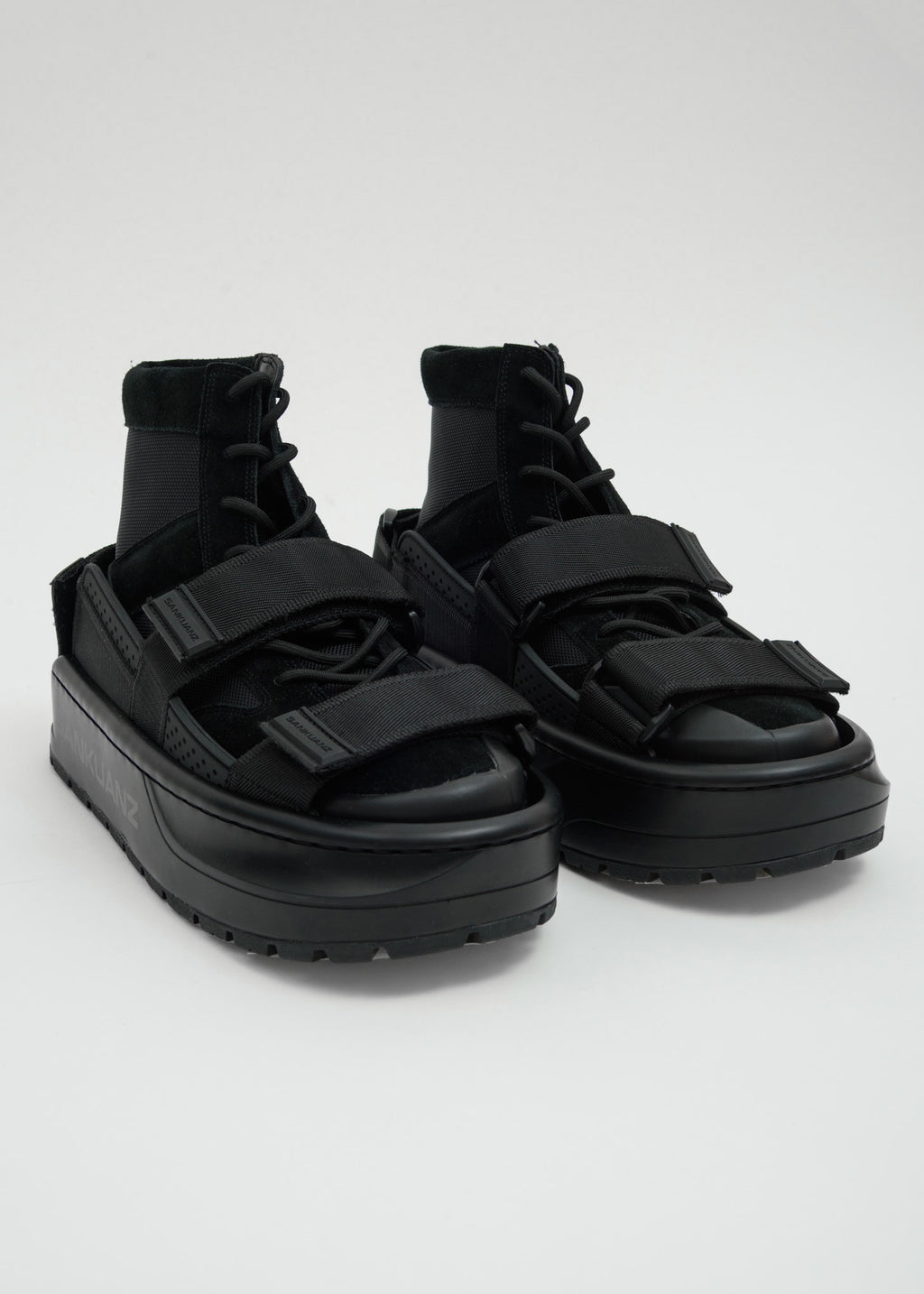 Black Double Sneakers