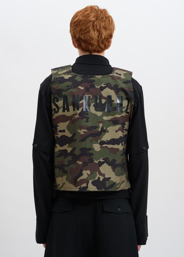 Camo Tactical Logo Vest