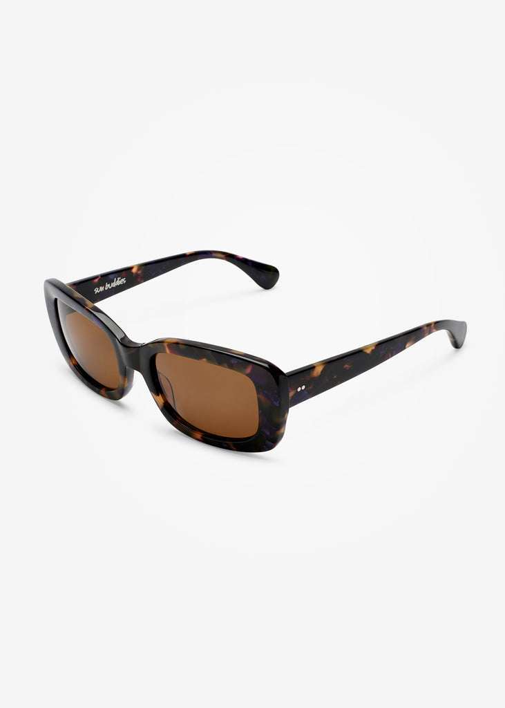 Purple Blonde Tortoise Junior Sunglasses