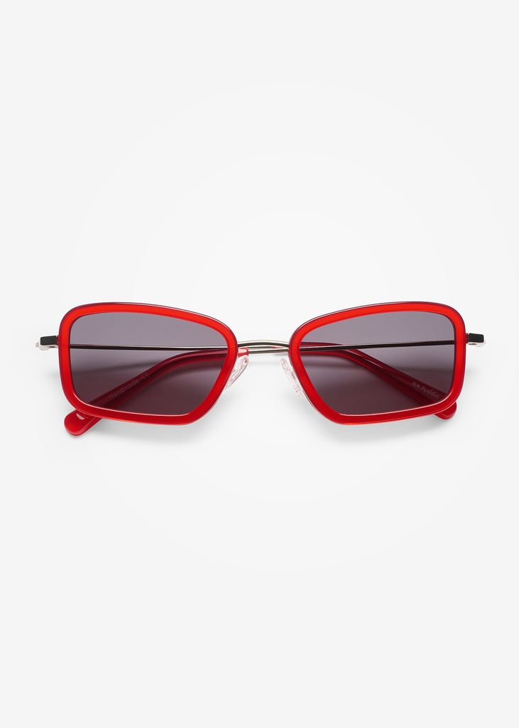 Silver & Twizzlers Red River Sunglasses