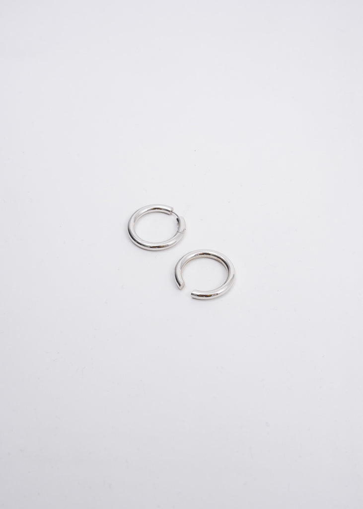 Silver Loophole Ear Set