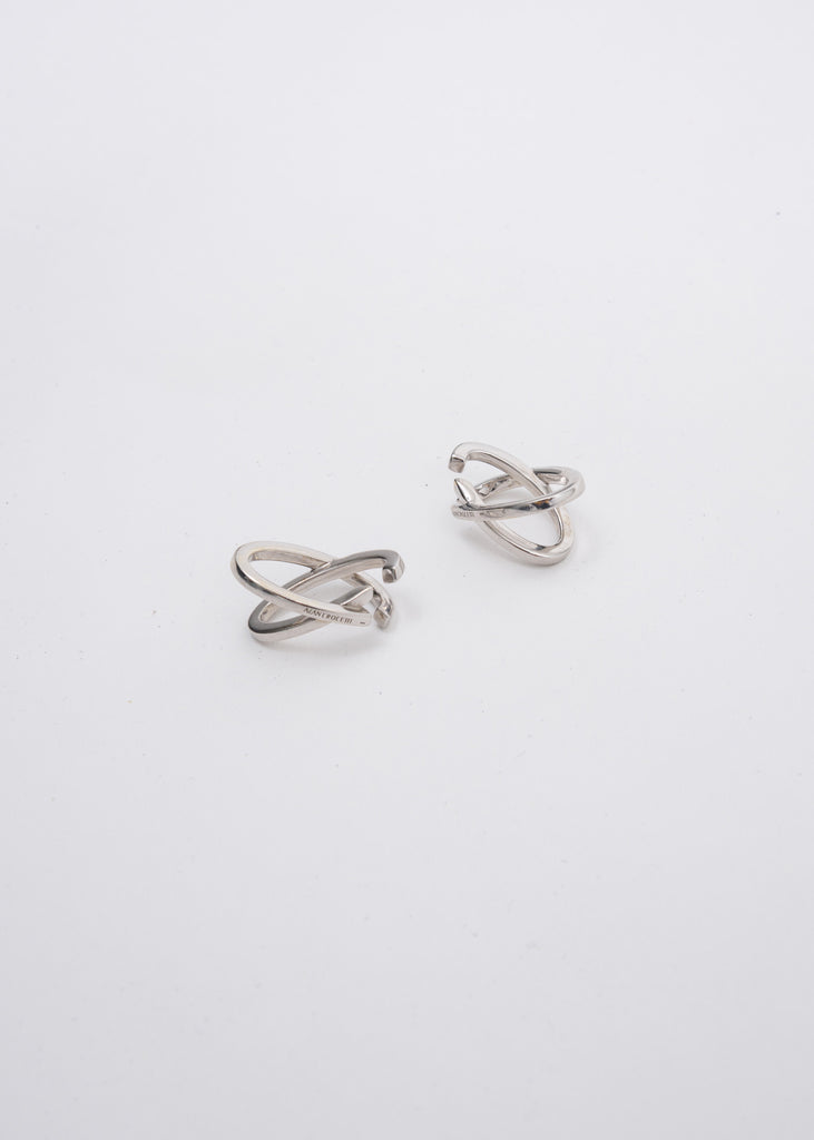 Silver Mini Space Ear Cuff (Pair)
