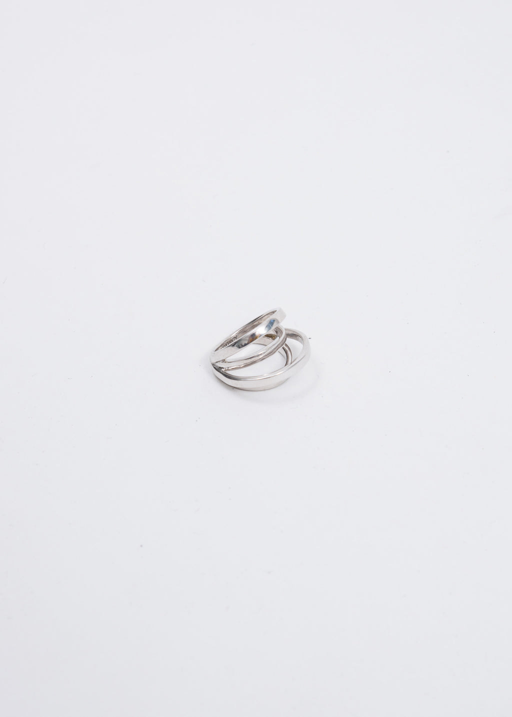 Silver Space Ring