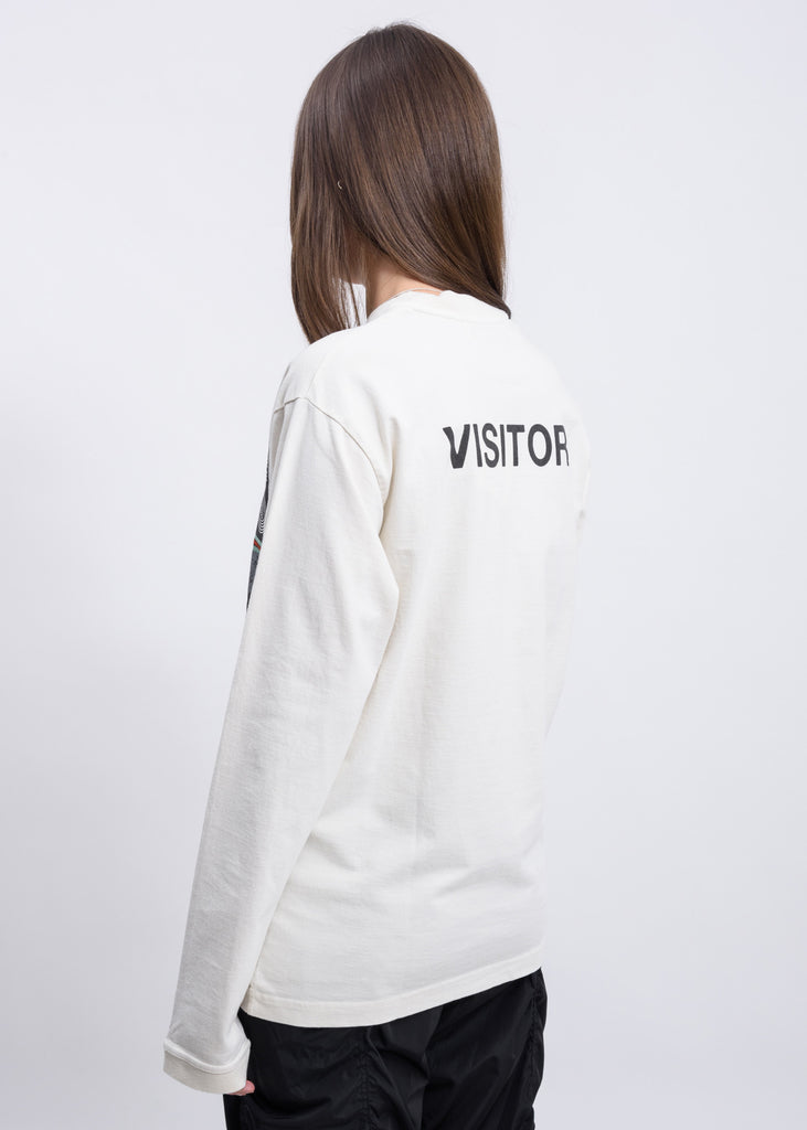 White Visitor T-Shirt