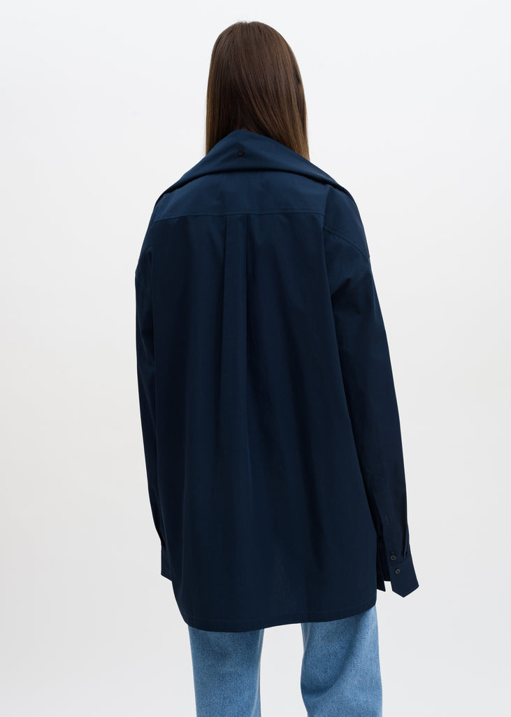 Dark Navy Oversized Shirt