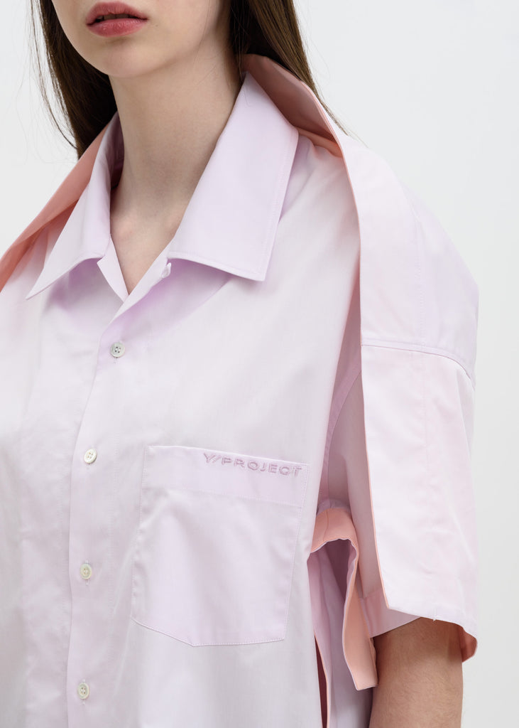 Light Pink Bowling Shirt
