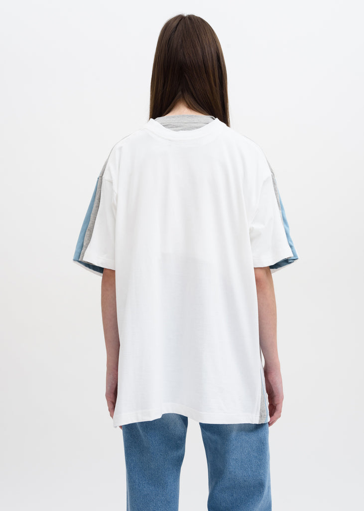 White Four Layer T-Shirt