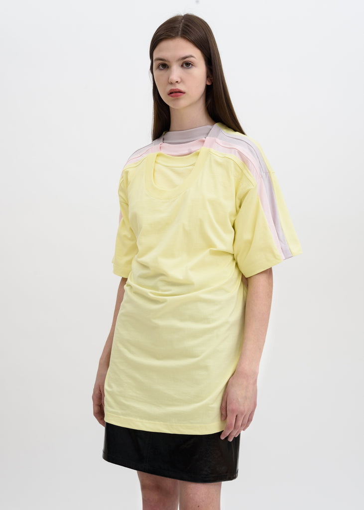 Yellow Four Layer T-Shirt