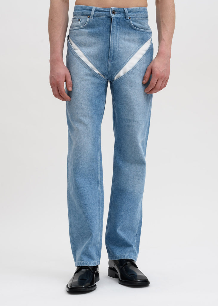 Y/Project, Blue Cut Out Jeans, 017 Shop