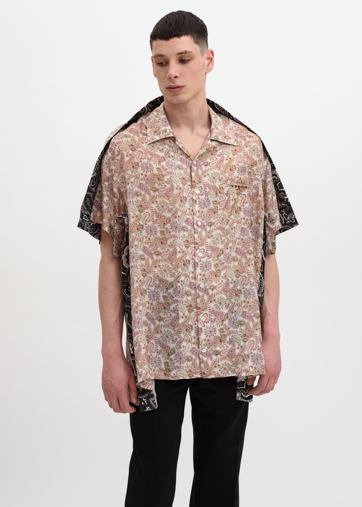 Multicolor Bowling Shirt